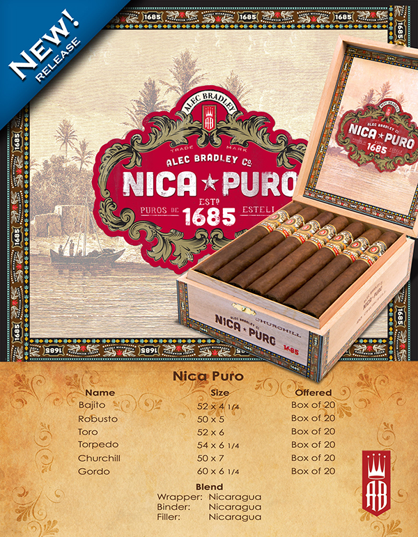 Alec Bradley Nica Puro cigar (click on image to go to manufacturer site)